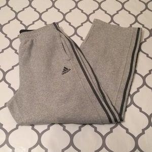 $10 adidas sweatpants size large